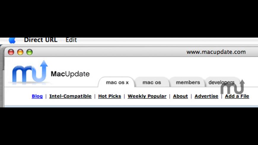 Direct URL for Mac - review, screenshots