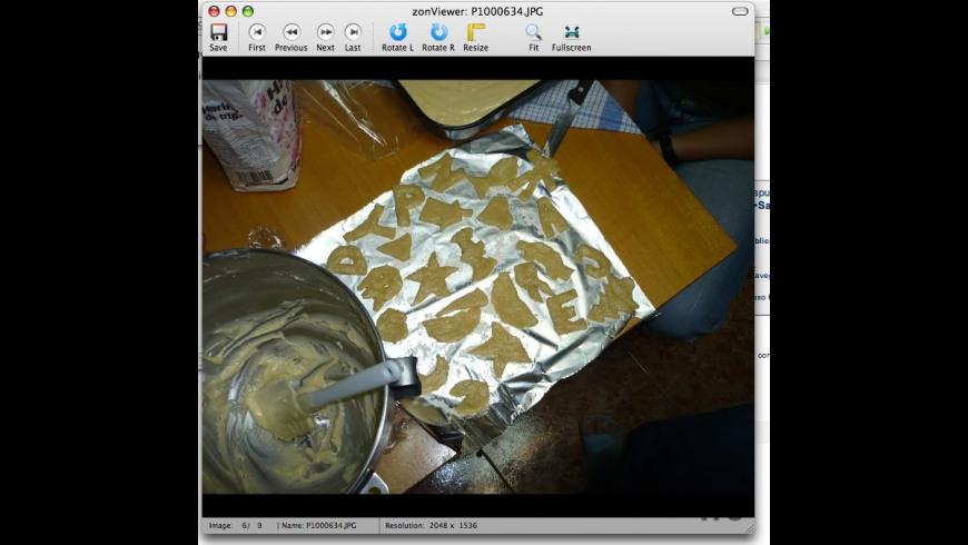 zonViewer for Mac - review, screenshots