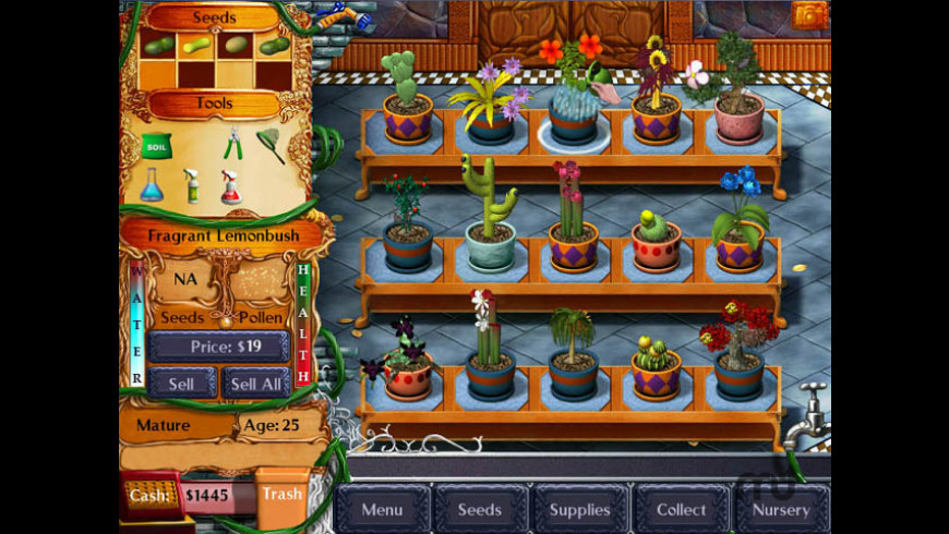 Plant Tycoon for Mac - review, screenshots