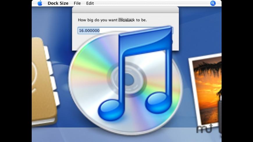 Dock Size for Mac - review, screenshots