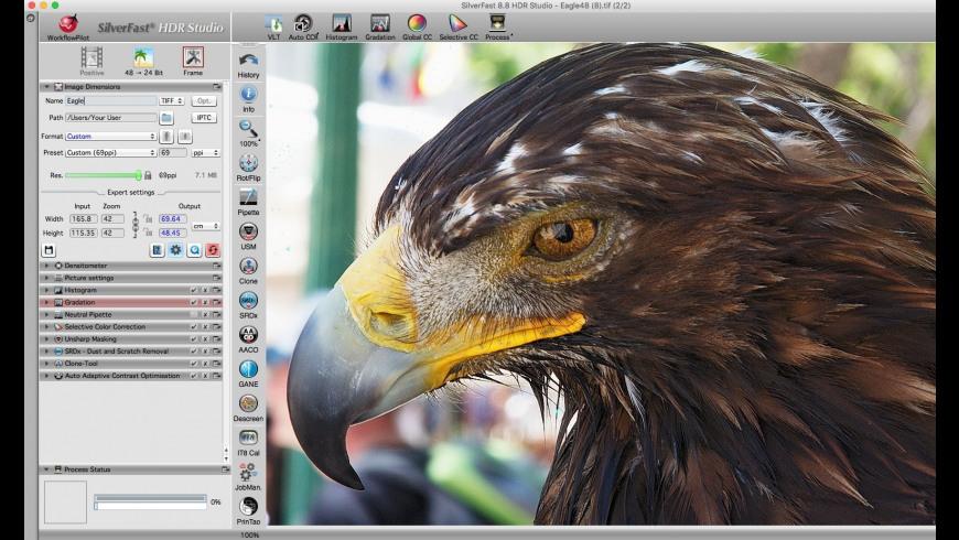 SilverFast HDR Studio for Mac - review, screenshots