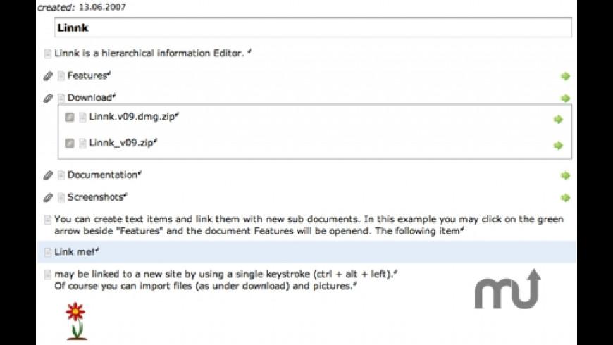 Linnk for Mac - review, screenshots
