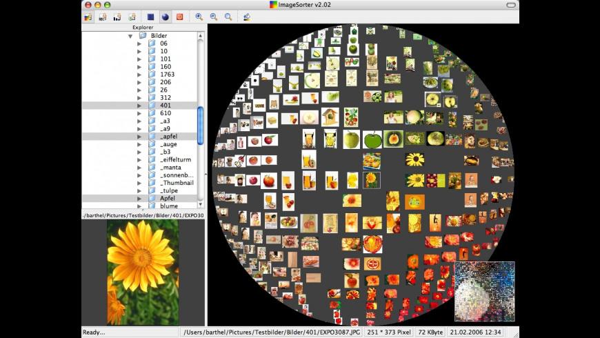 ImageSorter for Mac - review, screenshots