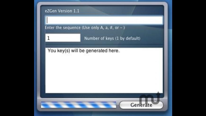 eZGen for Mac - review, screenshots