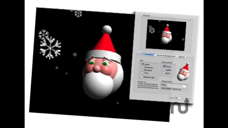 XmasBotz Screensaver for Mac - review, screenshots