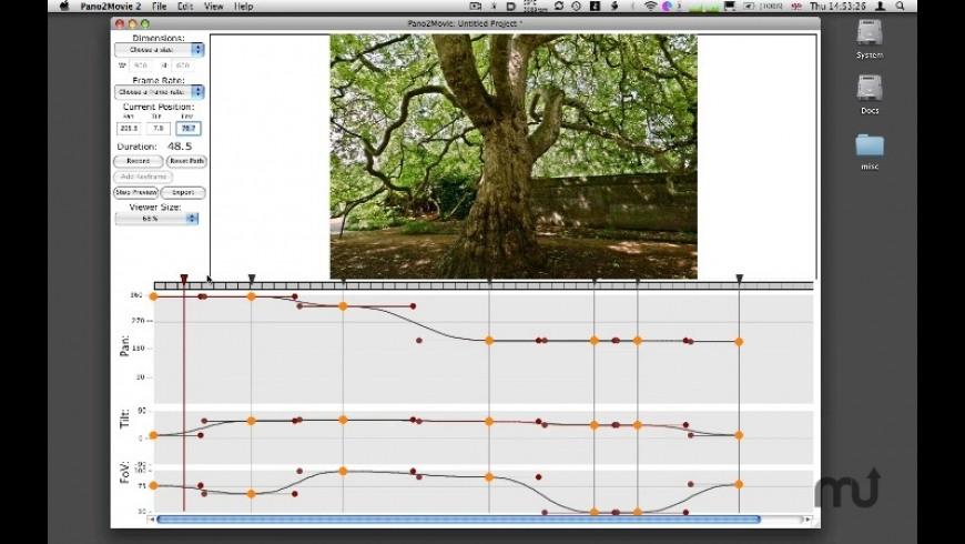 Pano2Movie for Mac - review, screenshots