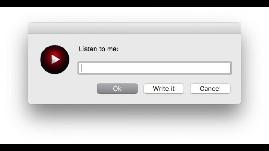 Zarvox for Mac - review, screenshots