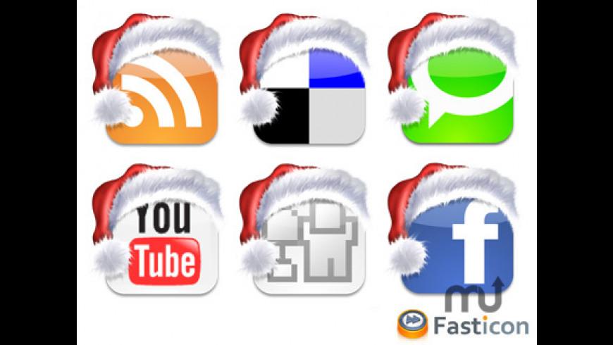 Christmas Social Bookmark Icons for Mac - review, screenshots