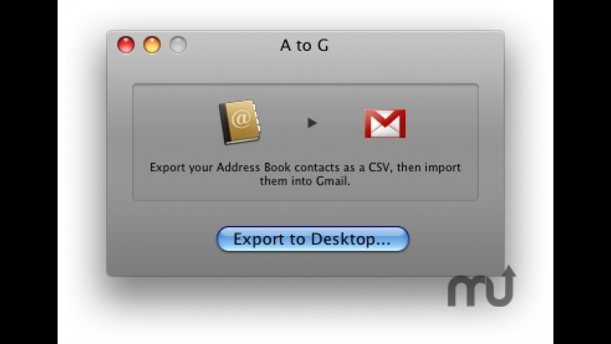 A to G for Mac - review, screenshots