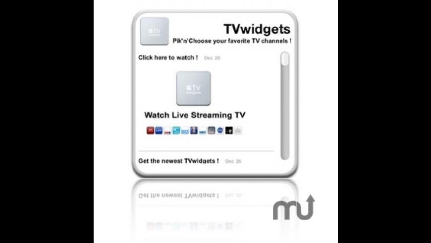 TVwidgets for Mac - review, screenshots