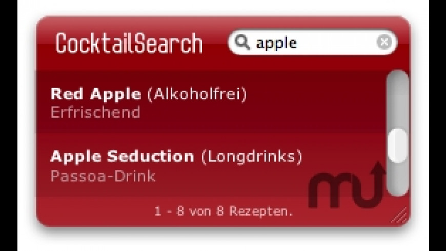 CocktailSearch for Mac - review, screenshots