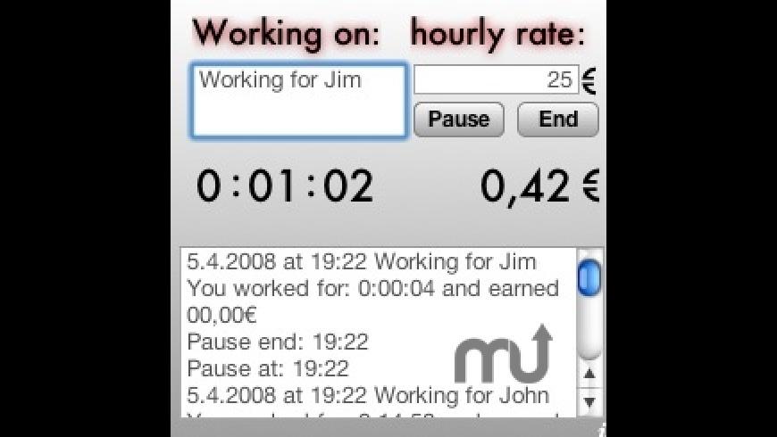 Worktime Widget for Mac - review, screenshots