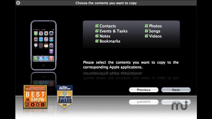 Fone2Phone for Mac - review, screenshots