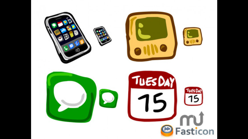 Hand Draw iPhone Icons for Mac - review, screenshots
