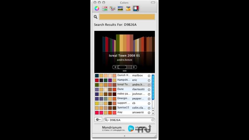 Mondrianum for Mac - review, screenshots