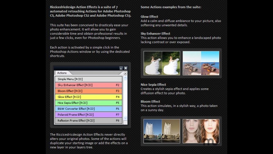 Action Effects for Mac - review, screenshots
