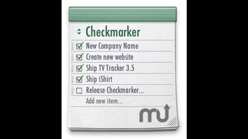 Checkmarker for Mac - review, screenshots