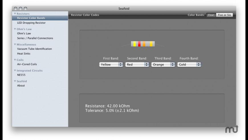 Seafoid for Mac - review, screenshots