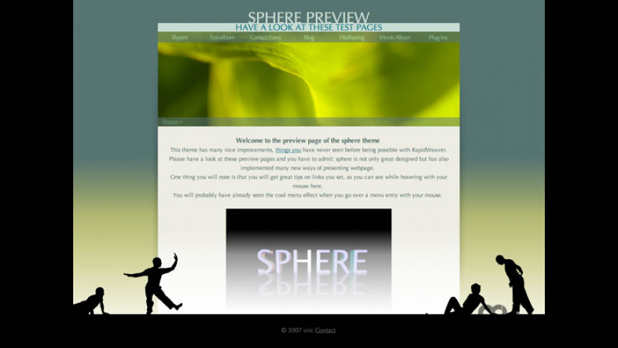 Sphere Theme for Mac - review, screenshots