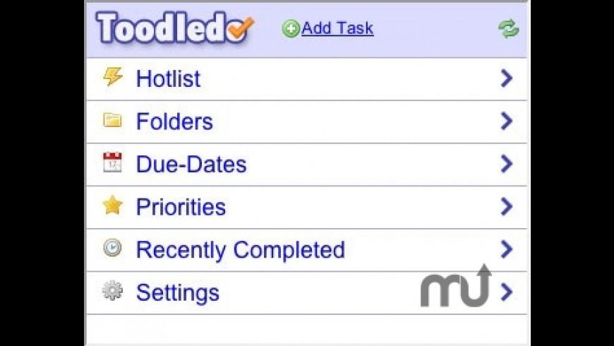 Toodledo for Mac - review, screenshots
