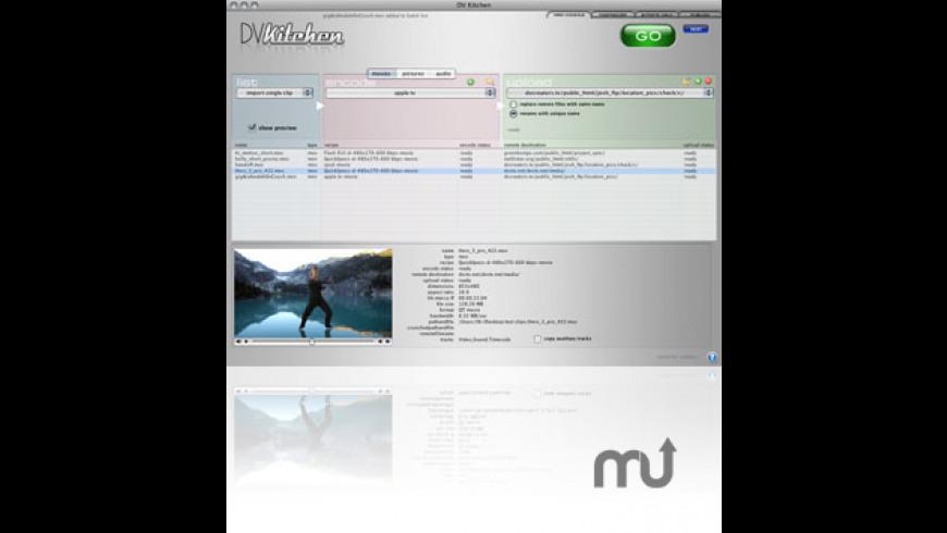 DV Kitchen for Mac - review, screenshots