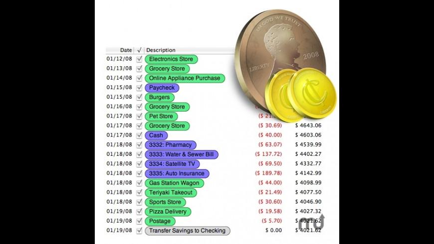Flowing Pennies for Mac - review, screenshots