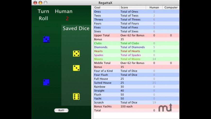 RegattaX for Mac - review, screenshots
