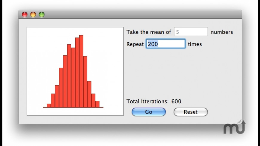Central Limit Theorem for Mac - review, screenshots