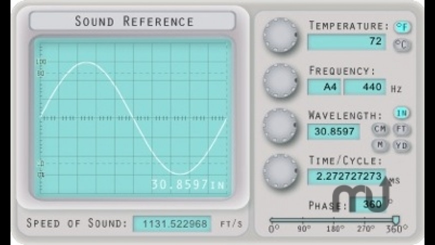 Sound Reference for Mac - review, screenshots