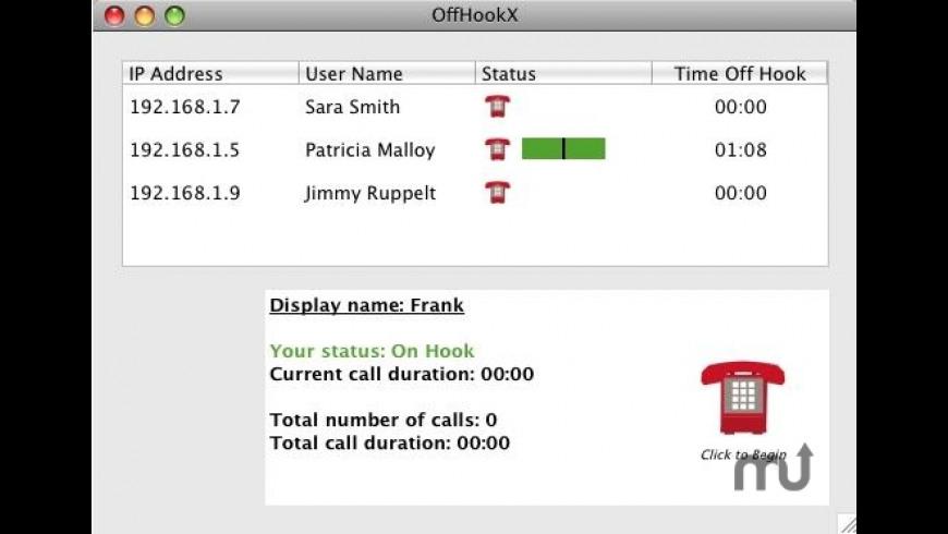 OffHook for Mac - review, screenshots