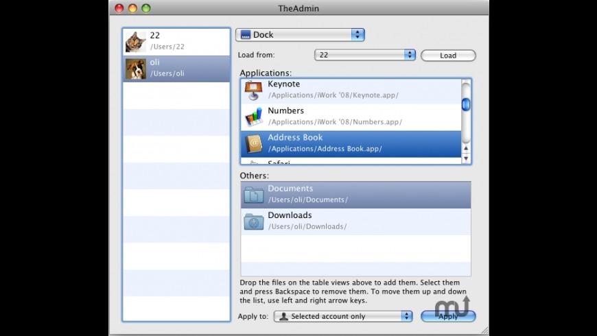 TheAdmin for Mac - review, screenshots