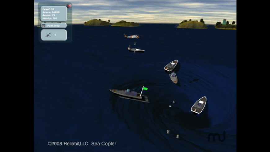 Sea Copter for Mac - review, screenshots
