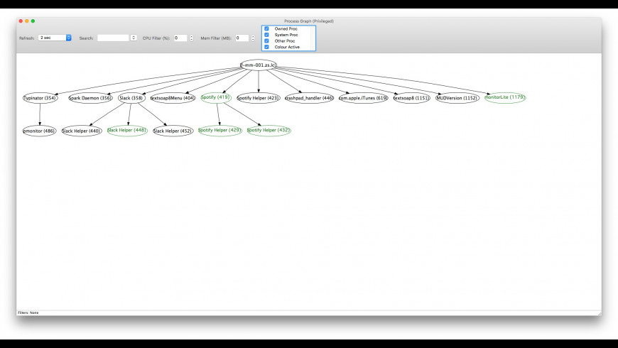 monitorLite for Mac - review, screenshots