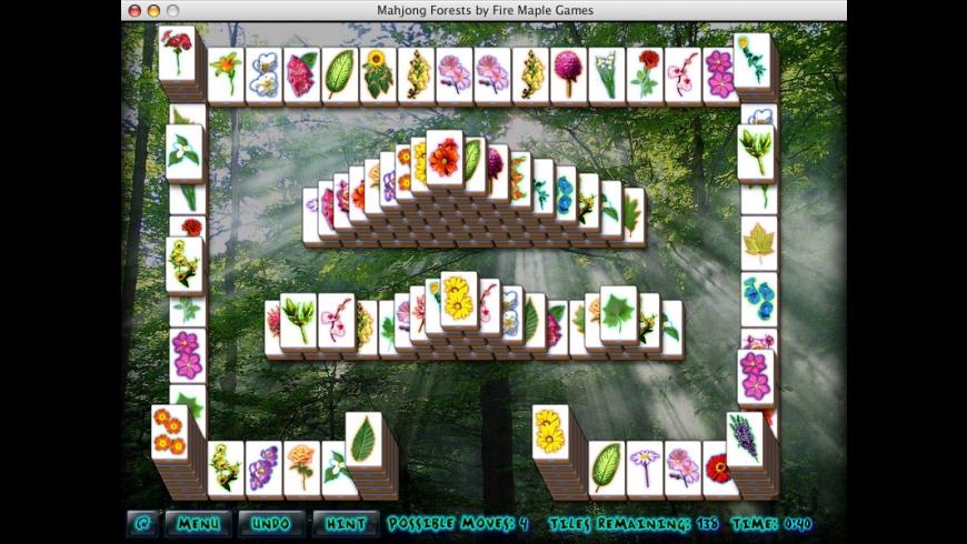 Mahjong Forests for Mac - review, screenshots