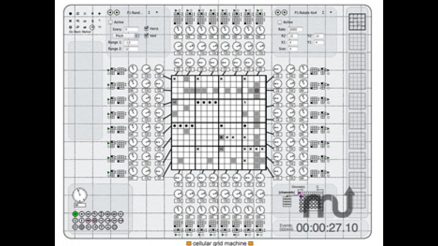Cellular Grid Machine for Mac - review, screenshots