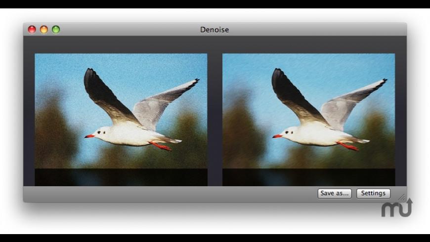 Denoise for Mac - review, screenshots