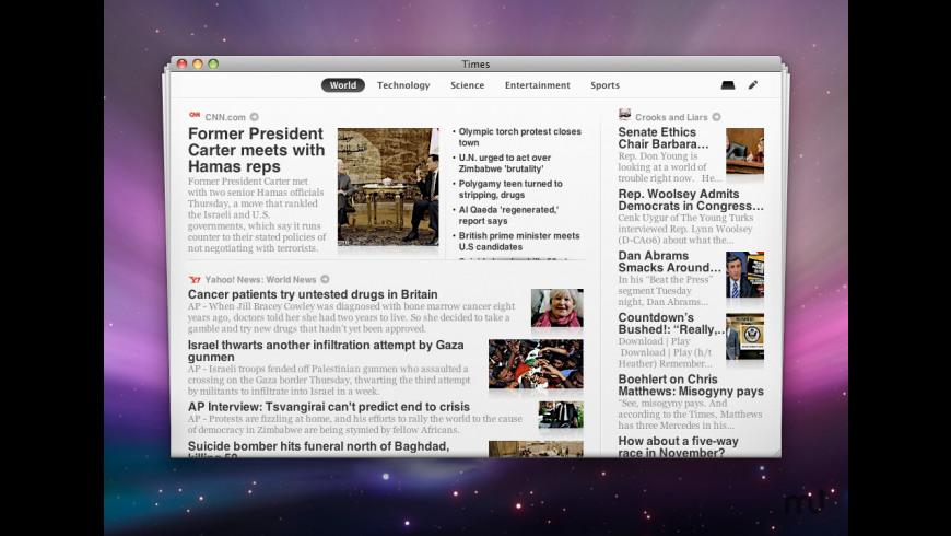 Times for Mac - review, screenshots