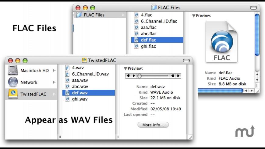 TwistedFLAC for Mac - review, screenshots