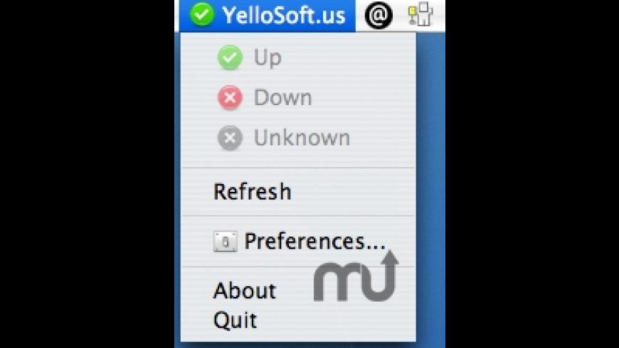 SiteStatus for Mac - review, screenshots