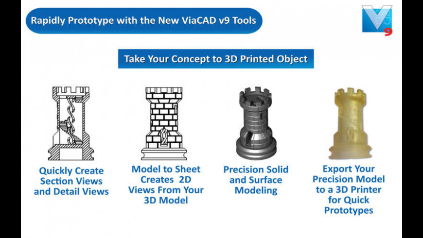 ViaCAD 2D/3D for Mac - review, screenshots