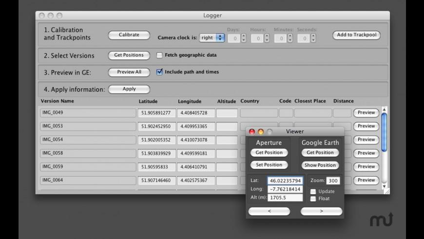 GPS2Aperture Pro for Mac - review, screenshots