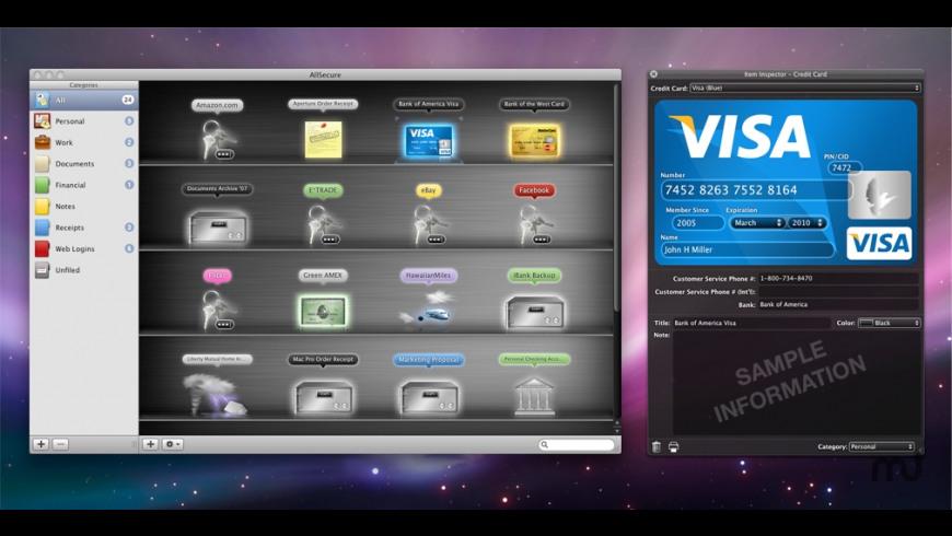 AllSecure for Mac - review, screenshots