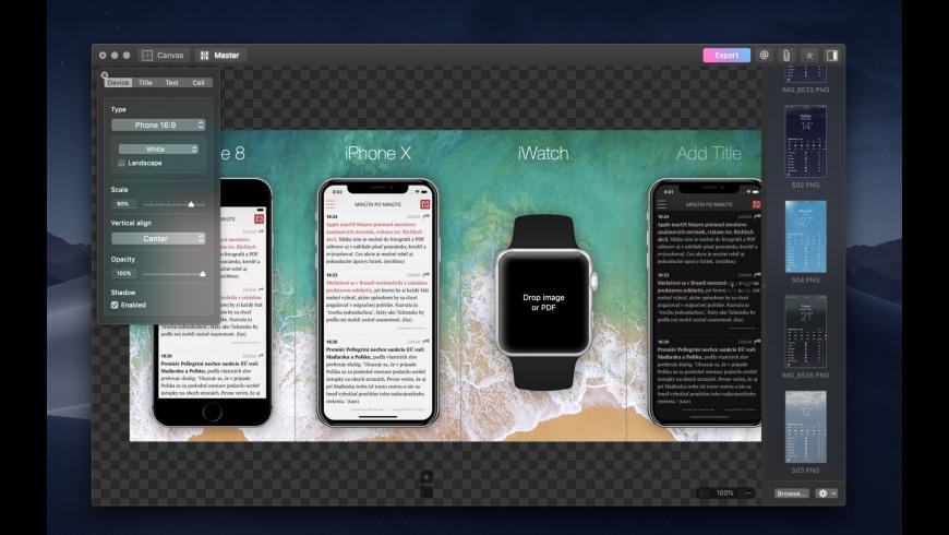 Vernissage for Mac - review, screenshots