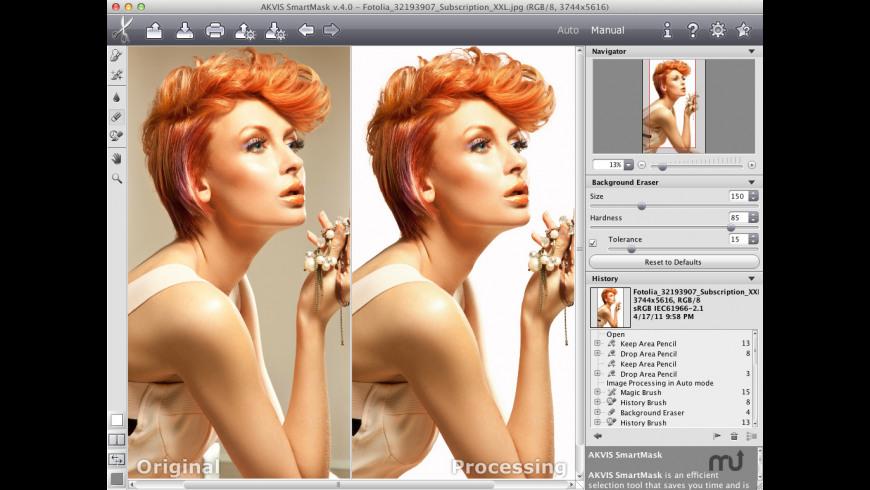 AKVIS SmartMask for Mac - review, screenshots