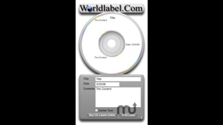 iLabel-it CD for Mac - review, screenshots