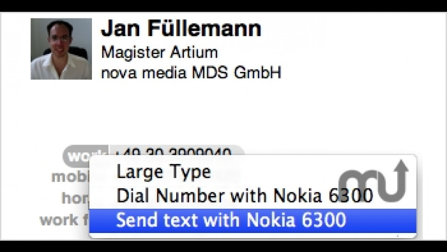 Phone plugins for Mac - review, screenshots