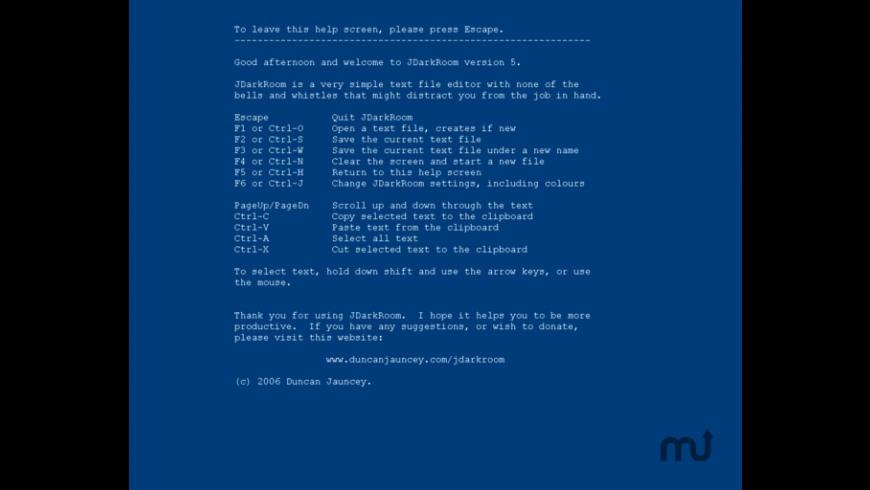 JDarkRoom for Mac - review, screenshots