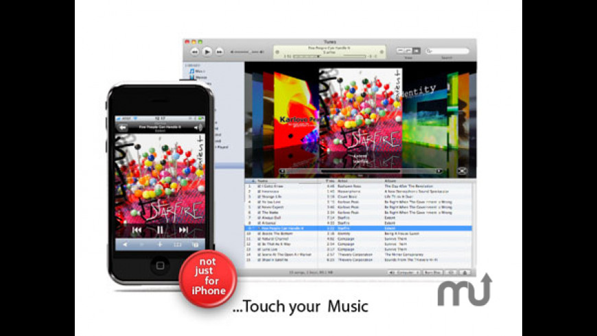 wifiTunes for Mac - review, screenshots