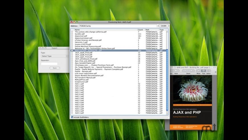 PDF Counter for Mac - review, screenshots