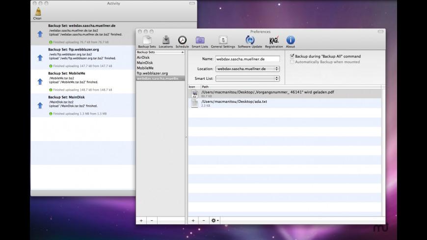 Dun for Mac - review, screenshots